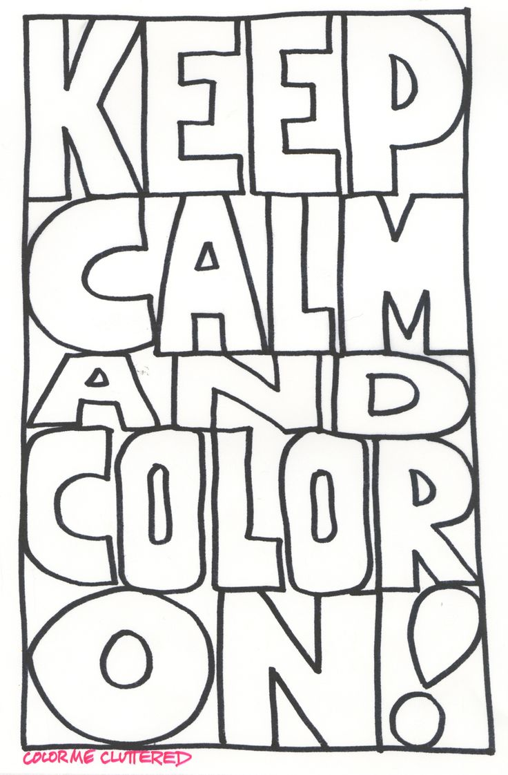 24 best color me cluttered a grown up coloring book images on