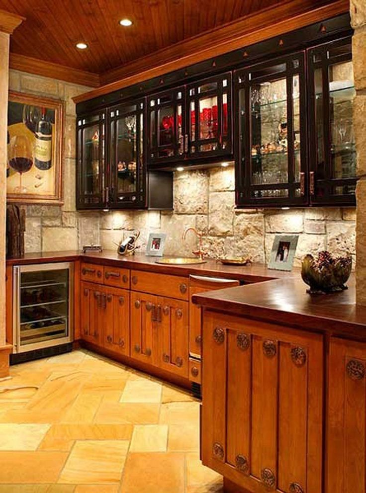 Best Small Rustic Kitchen Design Ideas Images On Pinterest