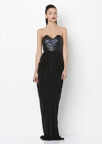 The ultimate #statement dress for that special occasion featuring a stunning #sequinned bodice. Available now at #Vivid now! For more information -   http://on.fb.me/1bYpbsO or email us at info@vividwear.com.au