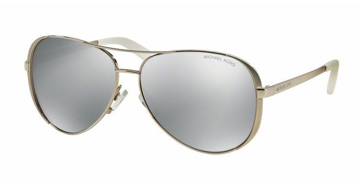 MICHAEL KORS CHELSEA Silver Mirror Polarized MK5004 1001Z3 – Sunglass Oasis Online