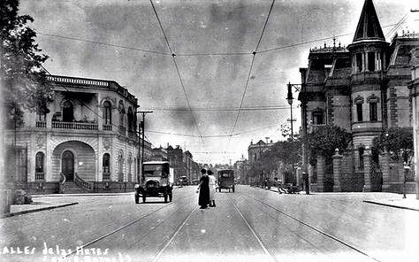 Calle Antonio Caso, 1920s.