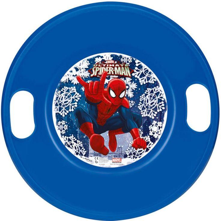JOHN Schneerutscher Spiderman #schneematte #schneerutscher #wintersport #schnee #spaßimschnee #schlitten #schlittenfahren #winterspaß #kinder