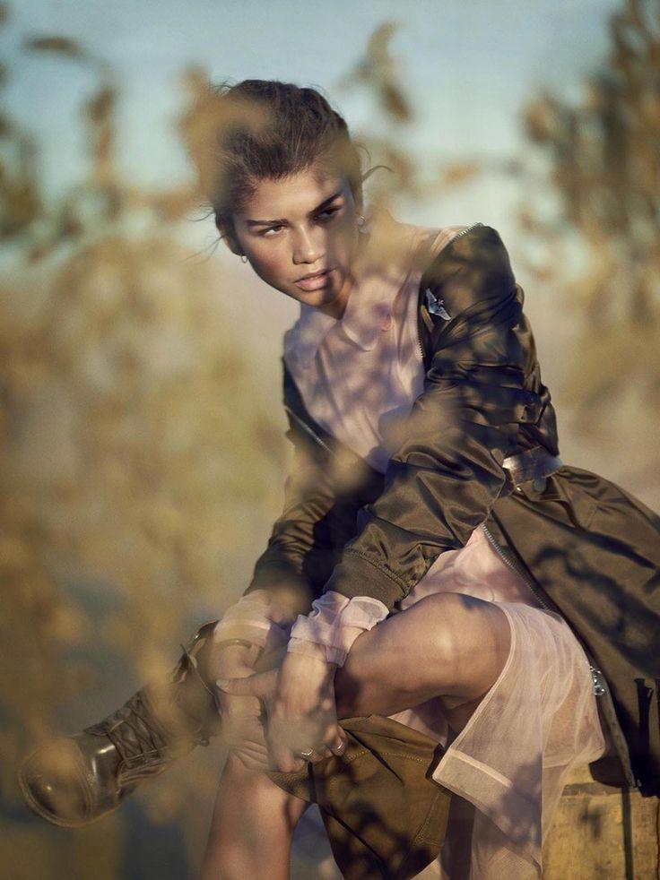 Zendaya Coleman: Military Chic For Teen Vogue | Papiki Atelier
