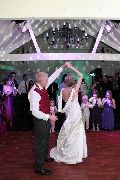 Another image of the first dance at Rowhill Grange.