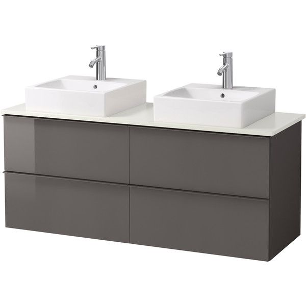 GODMORGON/ALDERN / TÖRNVIKEN Vanity, countertop and 17 3/4 (920 CAD) ❤ liked on Polyvore featuring home, home improvement and plumbing