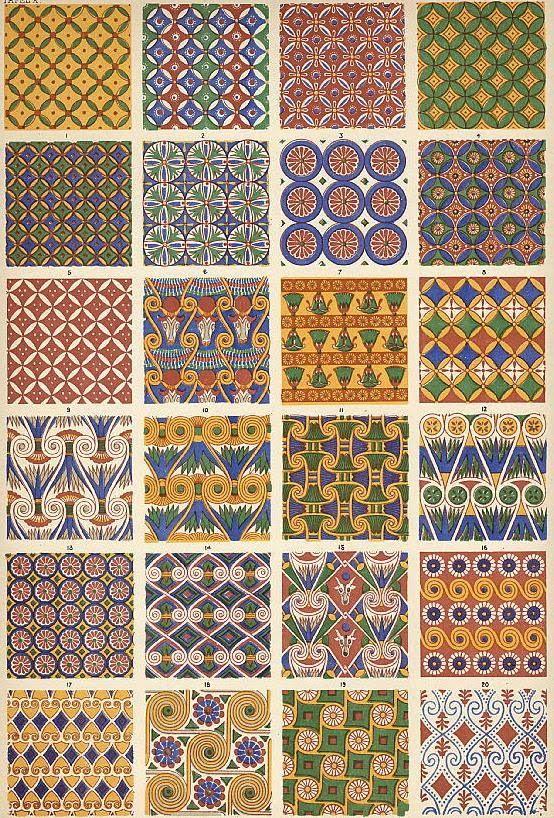 egyptian patterns - Cerca con Google | Egypt Concept ...