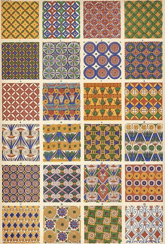 egyptian patterns - Cerca con Google