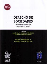 Derecho de sociedades : revisando el derecho de sociedades de capital / dirección, María Belén González Fernández, Amanda Cohen Benchetrit. - 2018