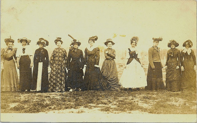 Dress up- Array of 19th century fashions, via Flickr