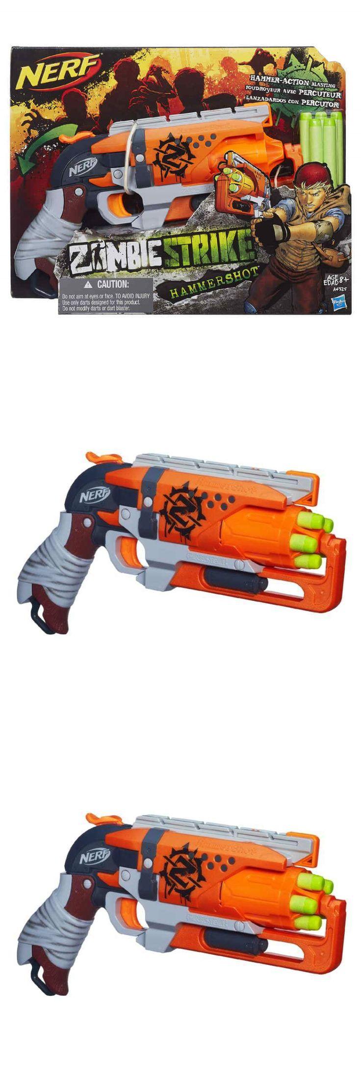 Dart Guns and Soft Darts 158749: New Nerf Zombie Strike Hammershot Blaster  **Christmas