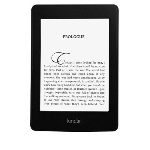 Kindle Paperwhite with built-in backlight
