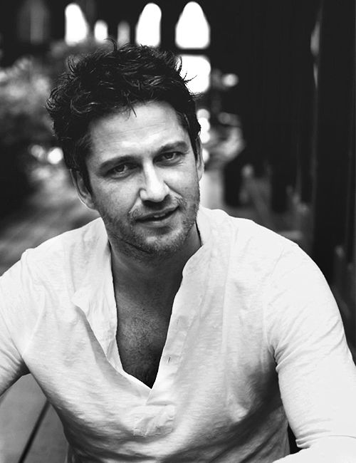 Gerard Butler, yes please. For an older guy he isn't bad! maybe