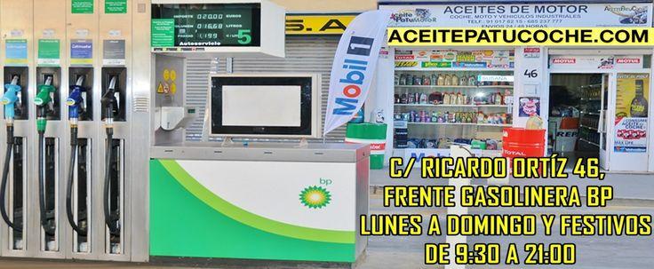 30,00€ · Aceite de Moto Barato · Tienda C/ Ricardo ortiz 46, FRENTE GASOLINERA BP, 28017 Madrid. Pedidos 910178215 Aceitepatucoche.com Tenemos gran variedad de aceites de moto y filtros. · Vehículos > Recambios de vehículos > Recambios para coches > Aceite de coche
