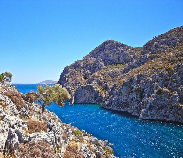 The fiord of Vathy, Kalymnos