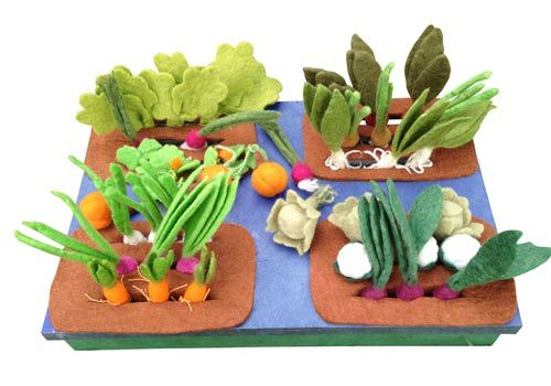 Buy Grow a Garden Felt Veggie Kit  Toys - For Child - $185 - Why its good: Papoose is a local, Australian company that is focused on fair labour and sustainable practices. All dyes used are AZO free, biodegradable and non toxic and comply with EN71 (part 1,2,3). - See more at: http://www.ecotoys.com.au/store/view-wooden-toys.php?toy=909#sthash.51asdrqn.dpuf