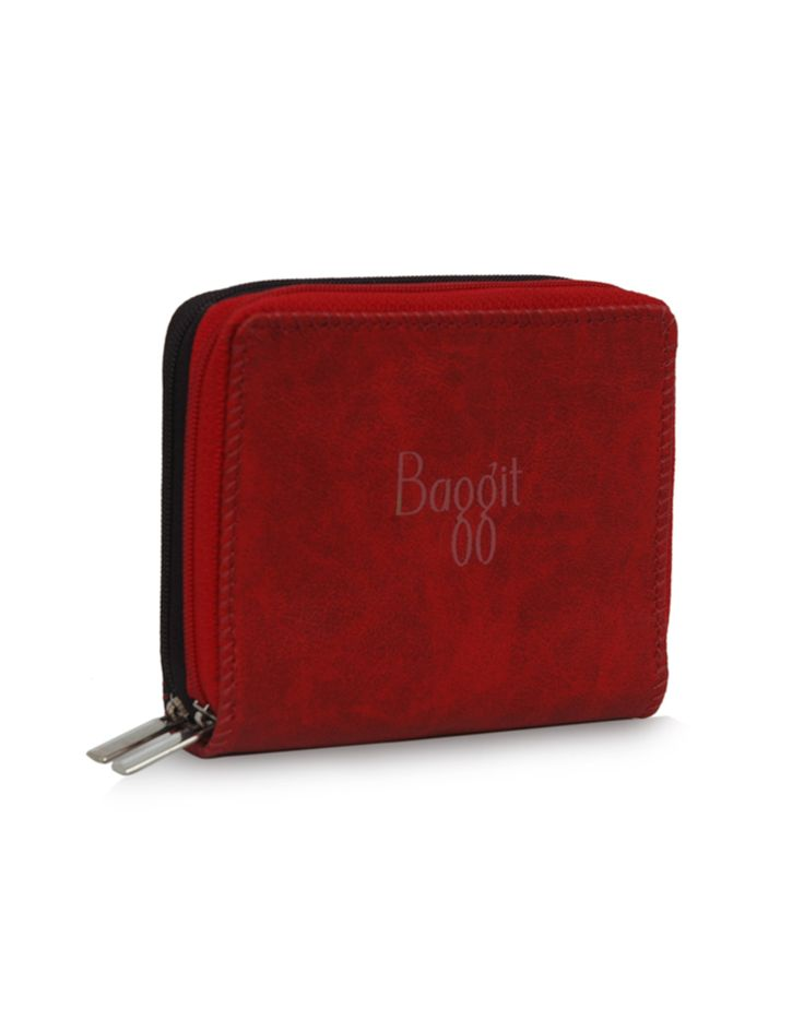 W Creator Dum Red - A dual toned red wallet by Baggit. http://www.baggit.com/