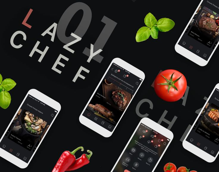 "Check out this @Behance project: ""Lazy Chef App"" https://www.behance.net/gallery/52428179/Lazy-Chef-App"
