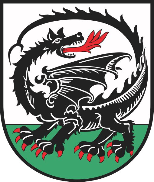 Coat of arm of Orneta, a town in northern Poland