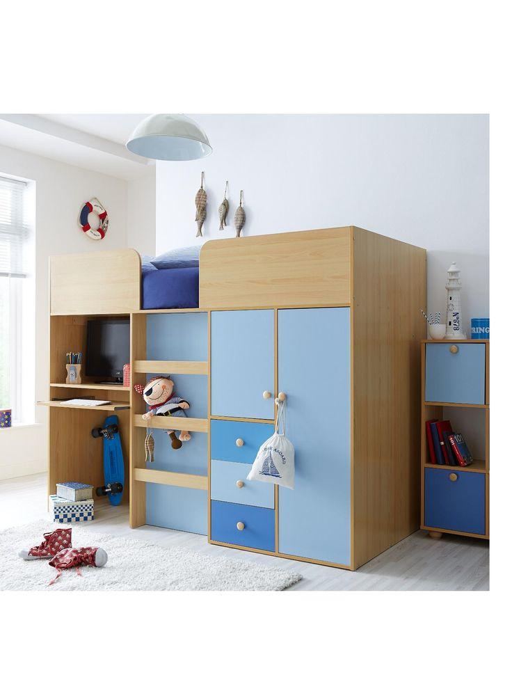 1000 ideas about kids mid sleeper on pinterest kids mid for Boys bedroom designs uk