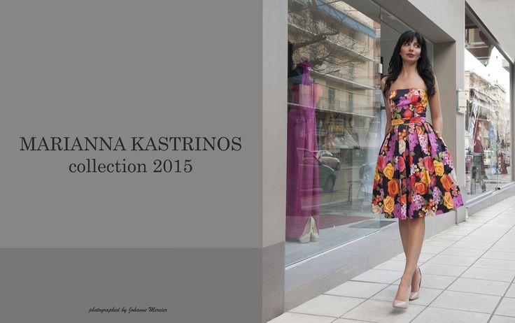 Luxury pret a porter collection Marianna Kastrinos 2015.