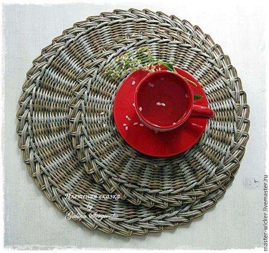 """Кухня ручной работы. Ярмарка Мастеров - ручная работа. Купить Сервировочная подставка под тарелку. По мотивам """"Время пить чай"""".. Handmade."""