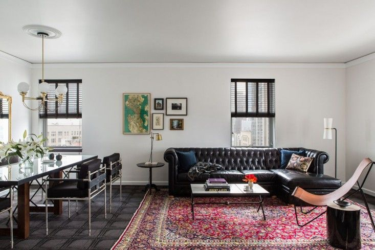 Grouping on wall - Palladian Hotel in Seattle with Interiors by Nicole Hollis   Remodelista