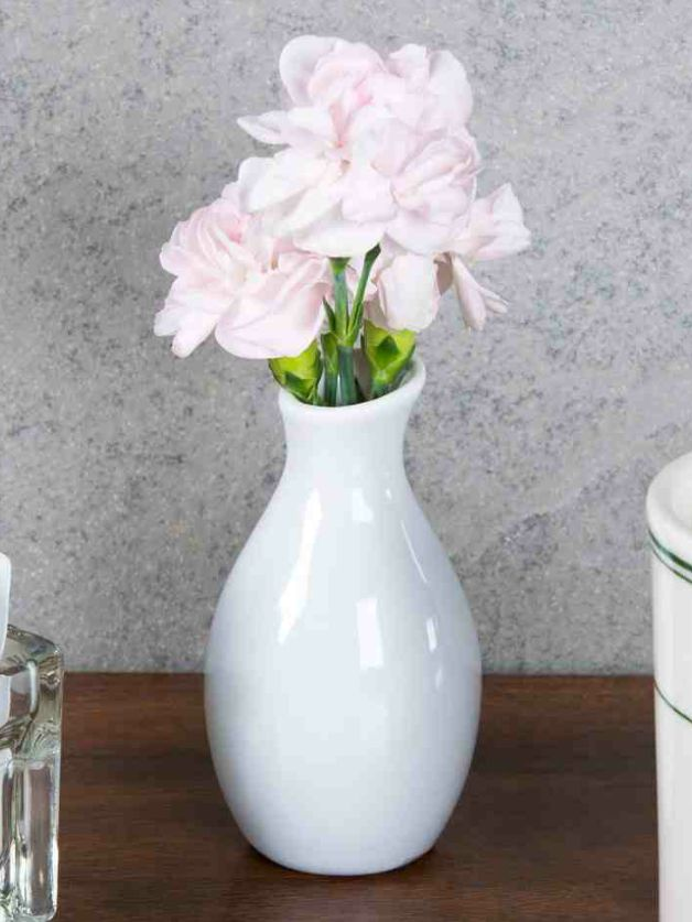 White Ceramic Vases & Hundreds of other used wedding supplies for sale!