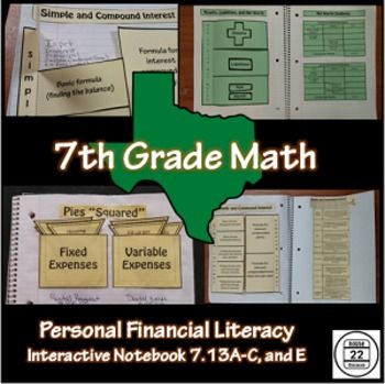43 best math stuff images on pinterest multiple choice staar test 7th grade math teks personal financial literacy ccuart Gallery
