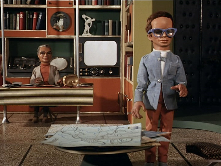Thunderbirds. Gerry and Silvia Anderson, 1965