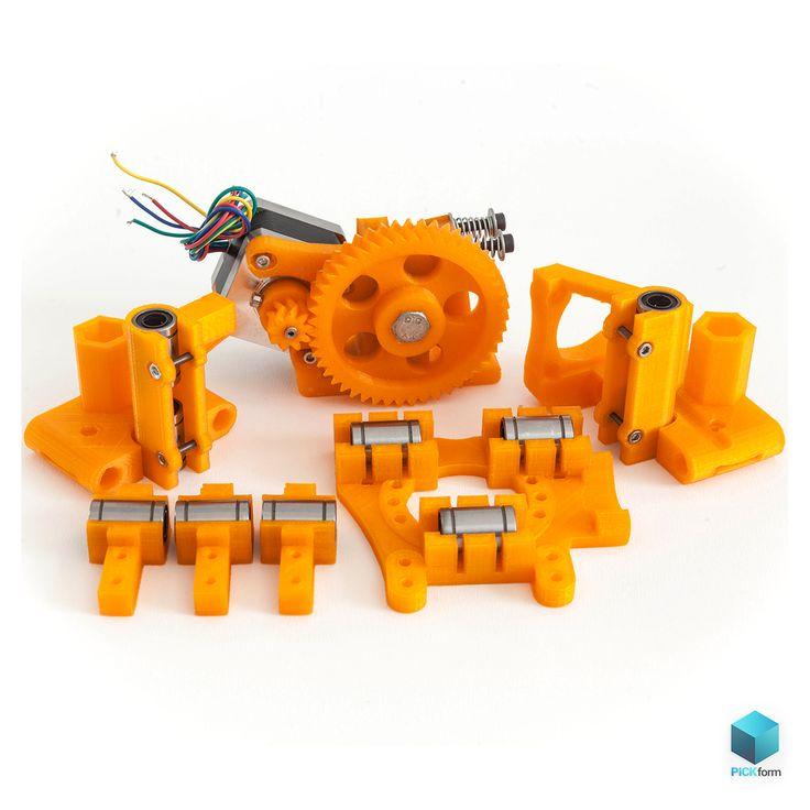 3D pritned RepRap parts