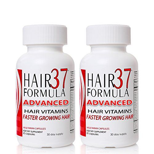 Hair Formula 37 Advanced with Biotin 2 Month Supply - Vitamins for Hair Growth Supplements for Faster Growing Hair Skin and Nails *** Continue to the product at the image link.
