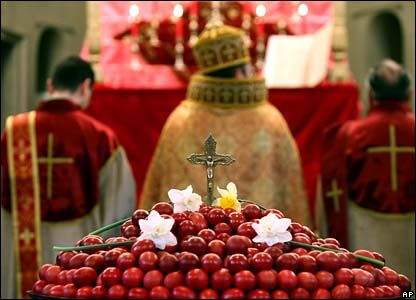 Armenian Apostolic Church in these days is gathered in silent recollection, praying and meditating on the mystery of the passion, death and Resurrection of the Lord.