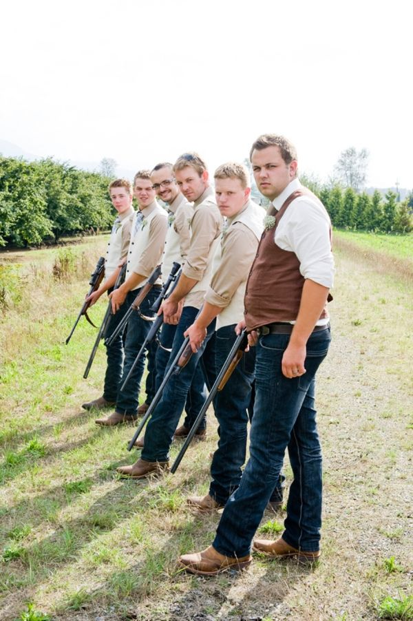 Really like this for the groomsmen! And something like this for bride ane bridesmaids