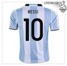Maillots-Sport: Maillots Equipe De Argentine Messi 10 2016 2017 Domicile