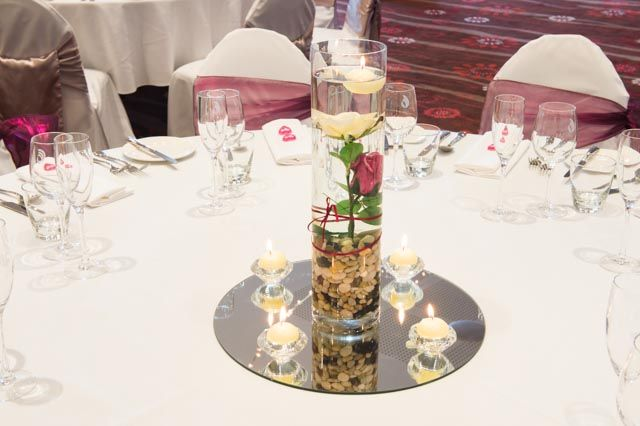 Waterside Events can create all sorts of pretty decorations for your special day #flowers