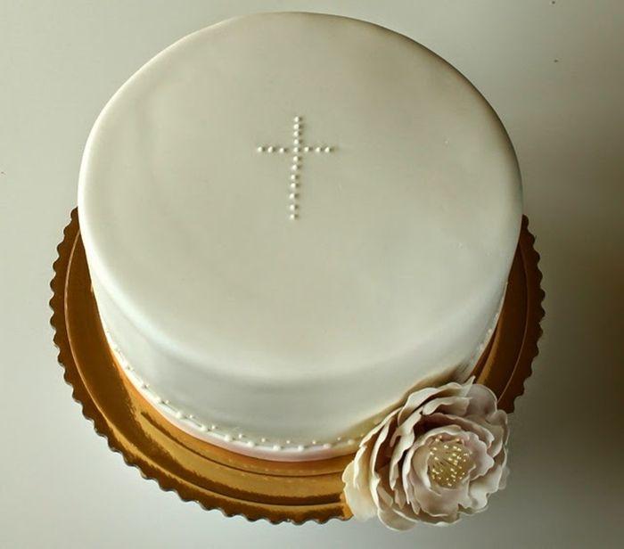 Inspiracje tortów komunijnych