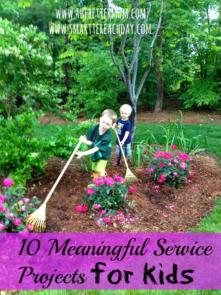 Ten service projects for kids (although I think they sound super fun for us big girls. I'm gonna suggest my women's Bible study group do one of these.)