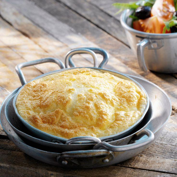 Découvrez la recette de l'omelette au four