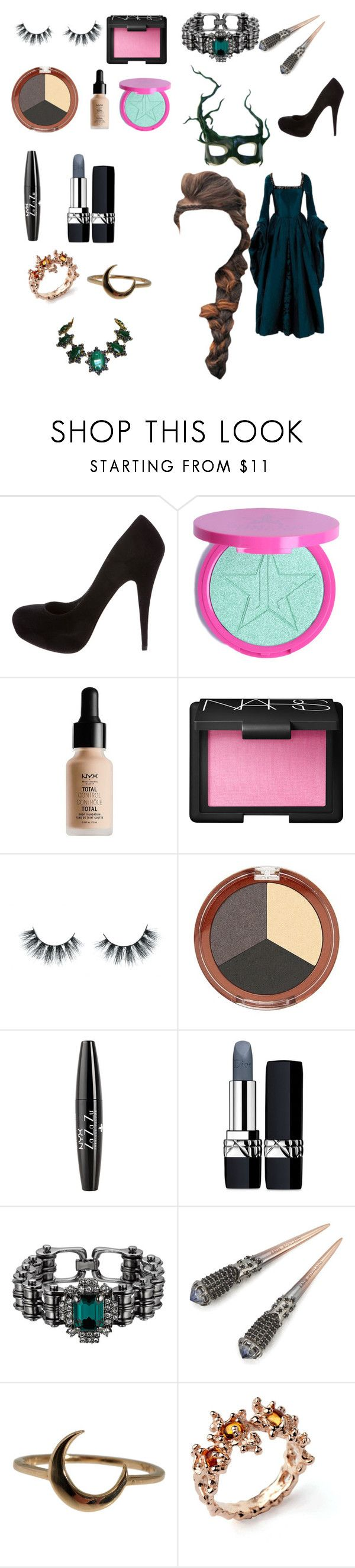"""Sammi McCall's Halloween mascaraed ball"" by samtiritilli ❤ liked on Polyvore featuring Masquerade, Miu Miu, NYX, NARS Cosmetics, Unicorn Lashes, Mineral Fusion, Christian Dior, Mawi, Katie Rowland and Lulu Frost"