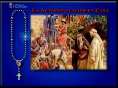 Recemos el Santo Rosario - Jueves ( Misterios Luminosos ) Completo - Jueve - YouTube