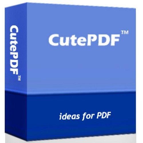 pdf cutewriter free software