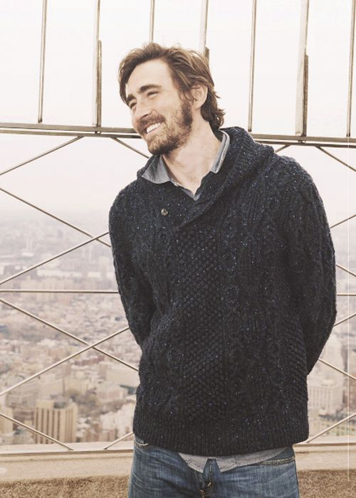 I had no idea how beautiful Lee Pace was underneath Thranduil, but now I am enthralled.