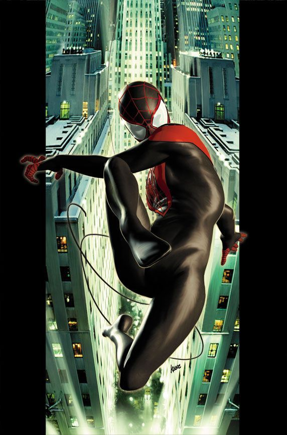 Ultimate #Spiderman #Miles#Morales #Fan #Art. (Ultimate Comics Spider-Man Vol.2 #2 Cover) By: Kaare Andrews. (THE * 5 * STÅR * ÅWARD * OF: * AW YEAH, IT'S MAJOR ÅWESOMENESS!!!™)[THANK Ü 4 PINNING<·><]<©>