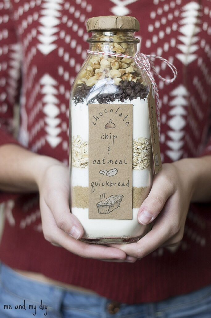 Could be a cute gift idea with instructions on the back to add however many eggs or whatever and bake.