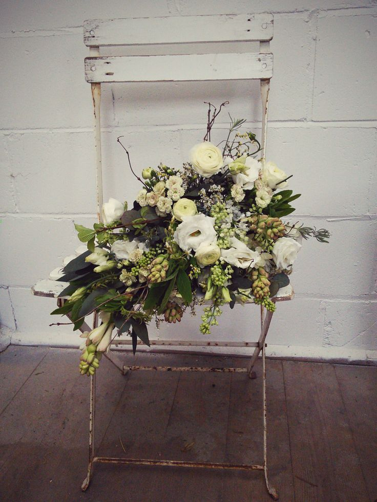 Winter White Shower Bouquet by Hannah Berry Flowers