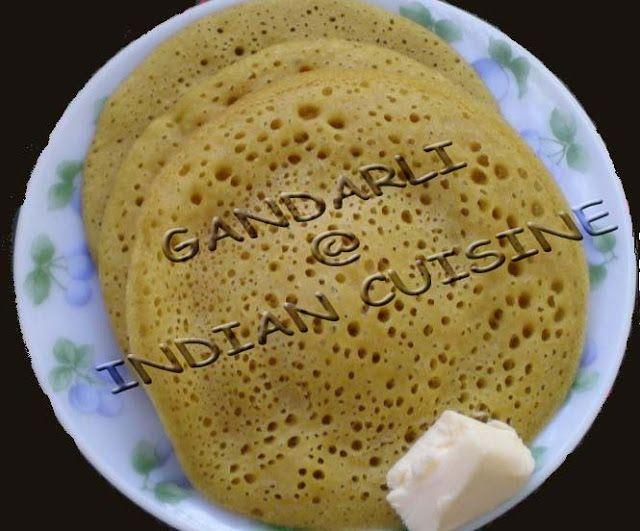 Konkani Randap: Sweet Dosa | Gandarli | Surnali | Goda Polo - Delicious Healthy Home Made Indian Food Recipes