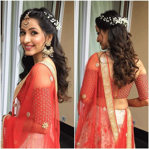 5 absolutely stunning bridal hairstyles to go with a bridal ghoonghat