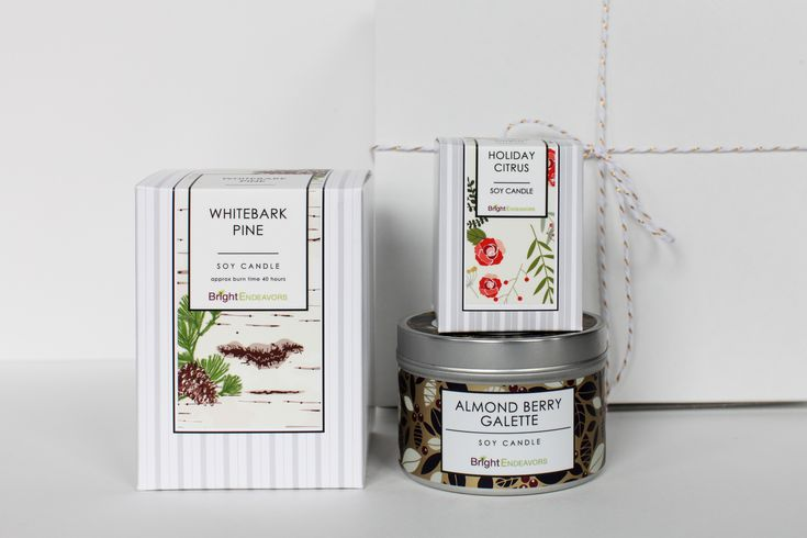 This Holiday Sampler Gift Set includes our favorite holiday scents in a variety of sizes.  100% of proceeds support the young moms who create this candle.