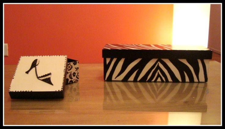 Cajas animal print