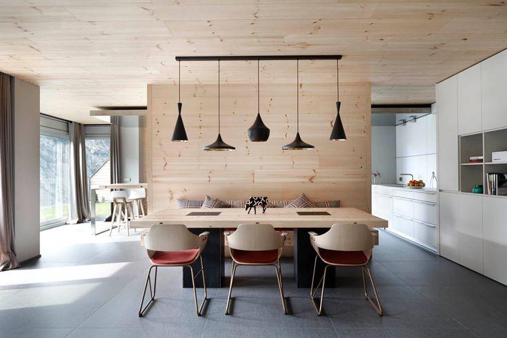 Wooden Interior by Coblonal Arquitectura